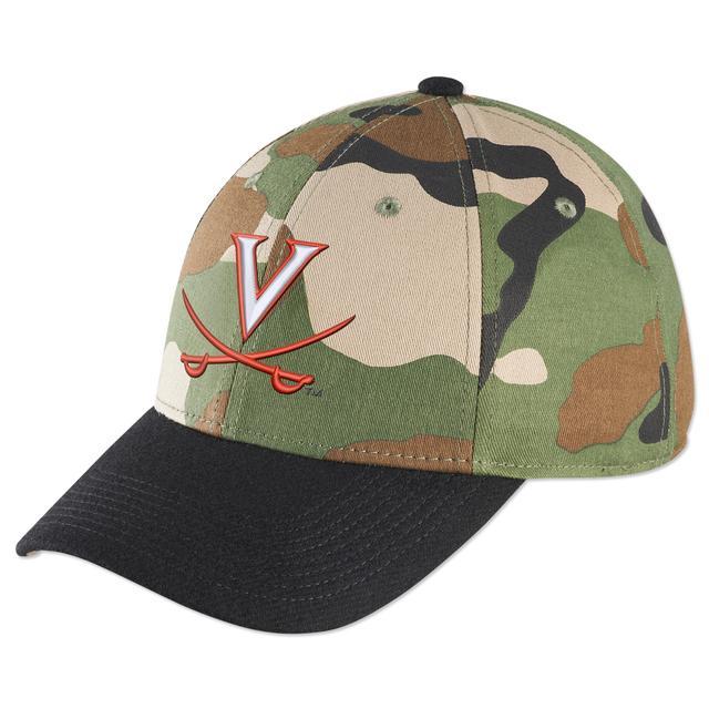 UVA Legacy91 Camouflage Swoosh Flex Fit Cap