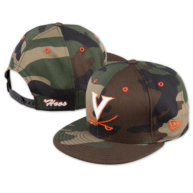 UVA New Era Woodland Camo 9Fifty Snapback