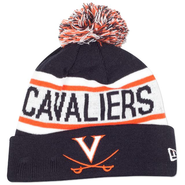 UVA New Era Biggest Fan Knit Beanie
