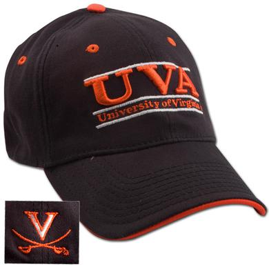 UVA Navy Bar Design Cap