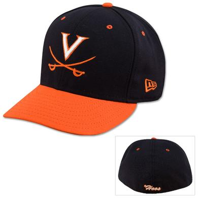 UVA Baseball New Era Official On-Field Fitted Replica Cap