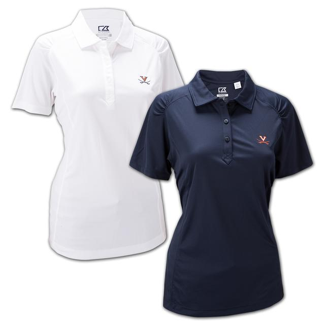 UVA Cutter & Buck Ladies Northgate Polo