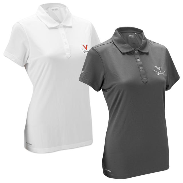 UVA PING Ladies Player Pique Polo