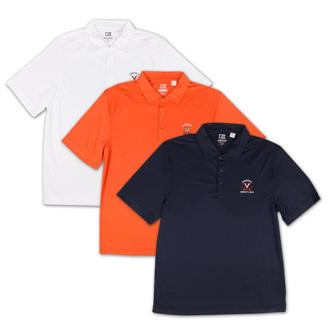 UVA Cutter & Buck Wrestling Polo