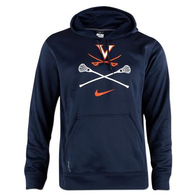 UVA NIKE Lacrosse Knock Out Hoody