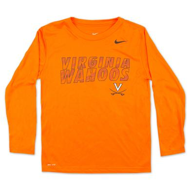 UVA Youth Longsleeve Dri-Fit T-Shirt