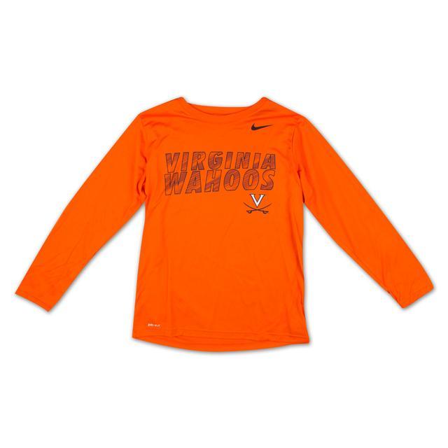UVA Youth Longsleeve Dri-Fit T-Shirt