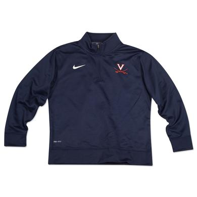 UVA NIKE Youth DriFit 1/4 Zip