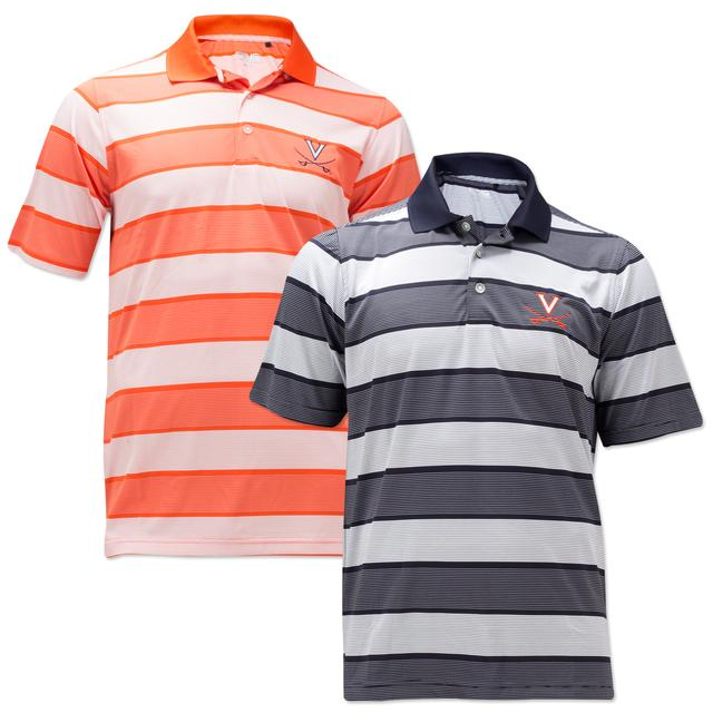 UVA PING Fairway Striped Polo