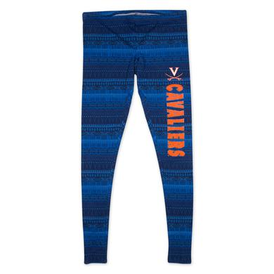 UVA Ladies Comeback Tribal Print Legging