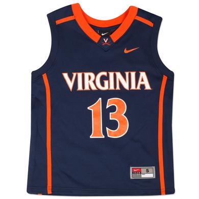 UVA NIKE Youth Replica Basketball Jersey #13