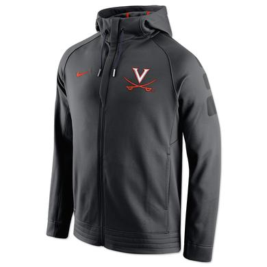 UVA Basketball NIKE ELITE Stripe Full-Zip Hoodie
