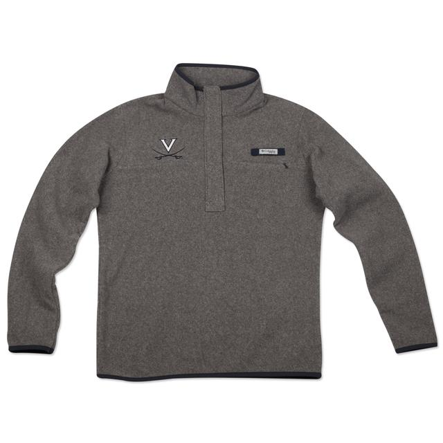UVA Columbia Ladies Harborside Fleece Pullover