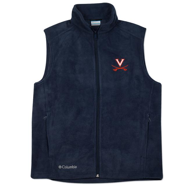 UVA Columbia Flanker Fleece Vest