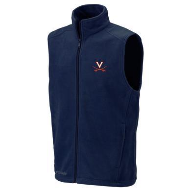 UVA Columbia Flanker Fleece Vest