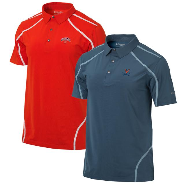 UVA Basketball Columbia Mens Omni-Wick Cut Away Polo
