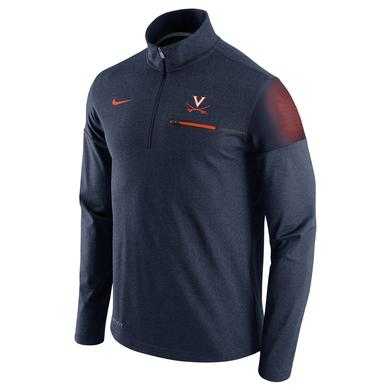NIKE UVA Coaches Half-Zip Pullover