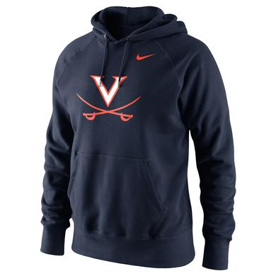 NIKE UVA Classic Logo Hoodie