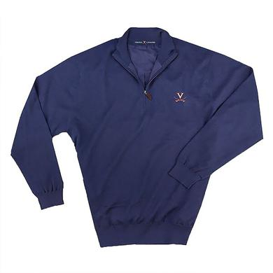 UVA Athletics University of Virginia MERINO Half-Zip Sweater