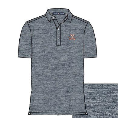 UVA Athletics University of Virginia ECOTEC Peached Polo