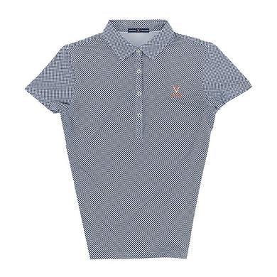 UVA Athletics University of Virginia ECOTEC Gingham Ladies Polo