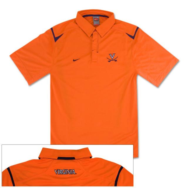 UVA Silent Count Sideline Polo