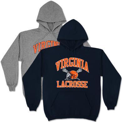 UVA Lacrosse Helmet Hoodie