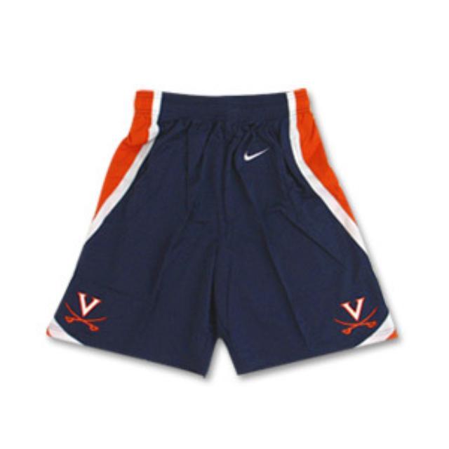 UVA Navy Youth Basketball Shorts