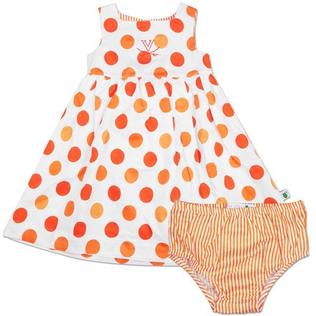 UVA Toddler Soiree Dress & Bloomer Set
