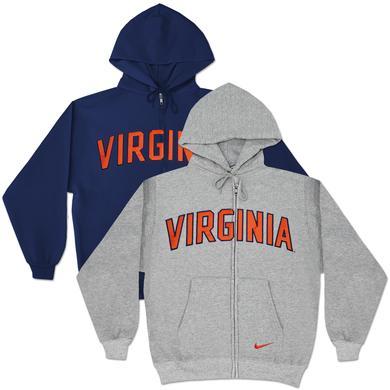 UVA Classic Fit Zip Hoody