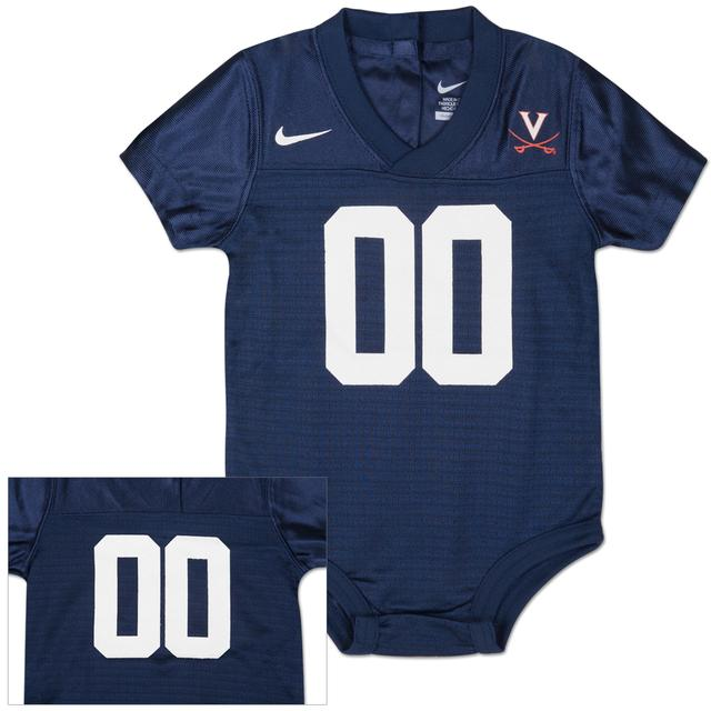 UVA Infant Football Jersey Creeper
