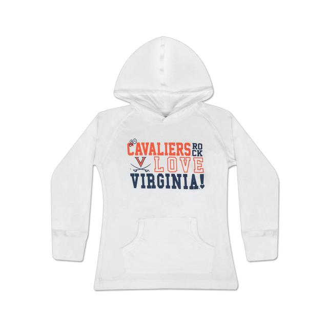 UVA Youth Girls Ruby Hoodie