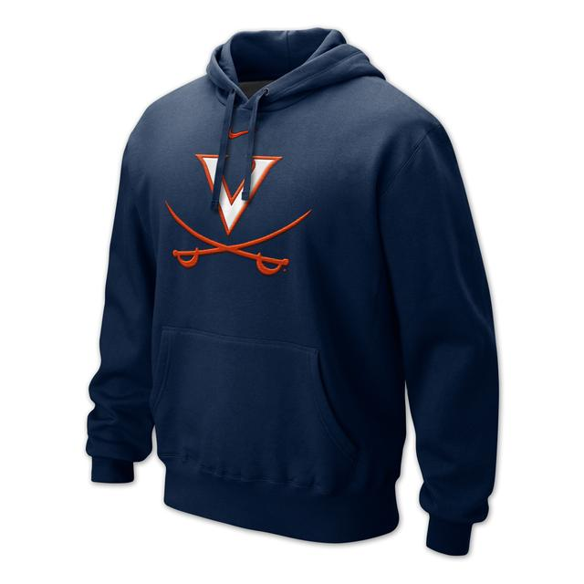 UVA Classic Logo Fleece Hoody