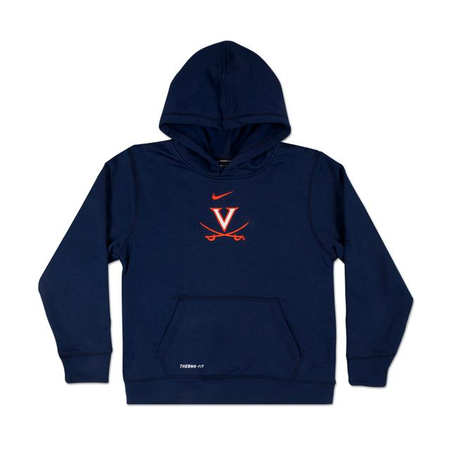 UVA Youth Performance Pull-Over Hoody