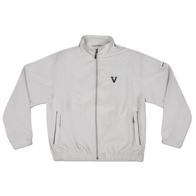 UVA Cutter & Buck Classic Logo Weathertec Bainbridge Full Zip Jacket
