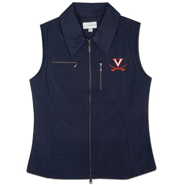 UVA Cutter & Buck V-Saber Ladies Weathertec Allegro Vest