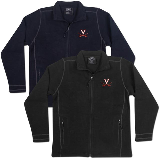 UVA Eclipse Knit Fleece Jacket