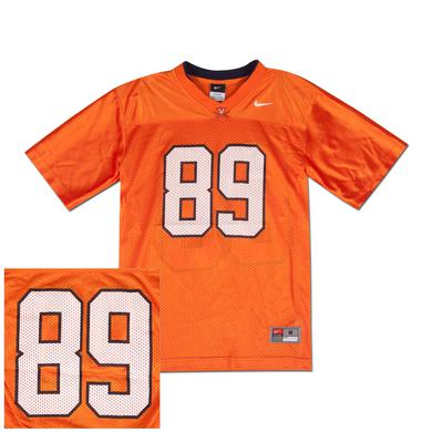 UVA 2011 Youth Football Jersey Orange