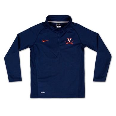UVA Boys Elite Mock 1/4 Zip Pullover