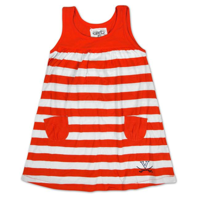 UVA Infant Ashley Striped Dress