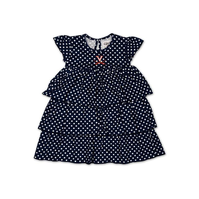 UVA Infant Natasha Dot Dress