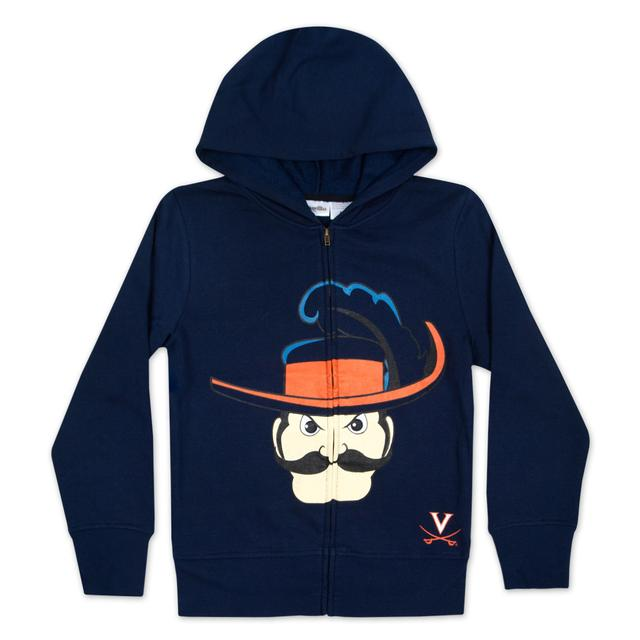 UVA Youth Graphic Mascot Hoody