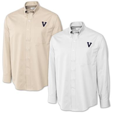 UVA Cutter & Buck Classic V Epic Twill Shirt