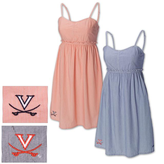 UVA Cutter & Buck Seventh Inning Sun Dress