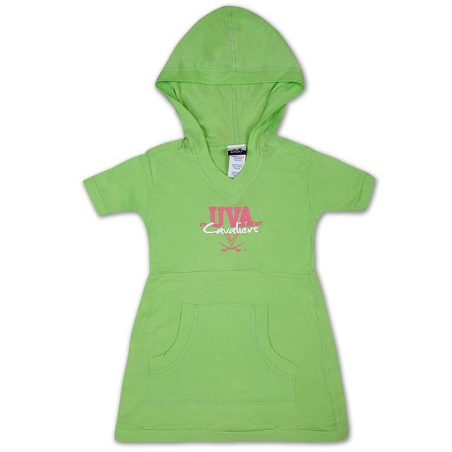UVA Youth Girls Lime Pocket Dress