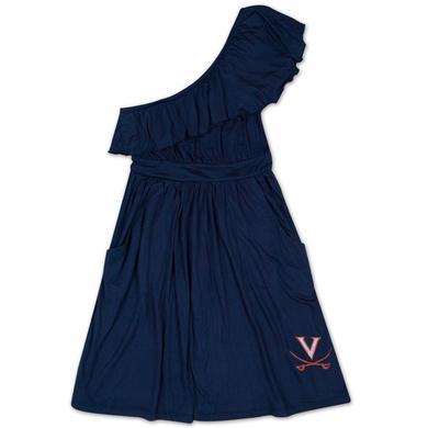 UVA Ladies Ruffle Dress