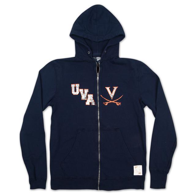 UVA Thermal Lined Full Zip Hoodie
