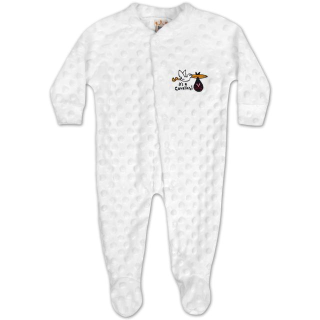 UVA Infant Snap Front Footed Romper