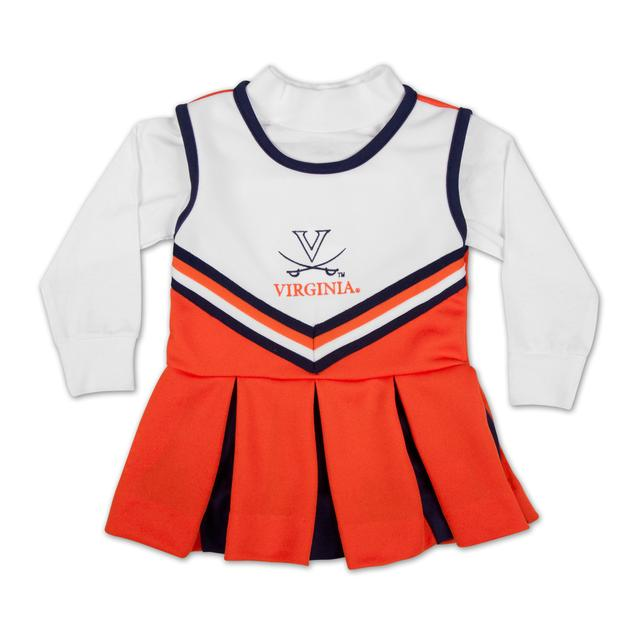 UVA Girls Longsleeve TurtleNeck Cheer Jumper