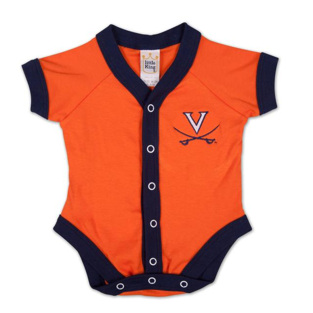UVA Infant Snap Front Onesie